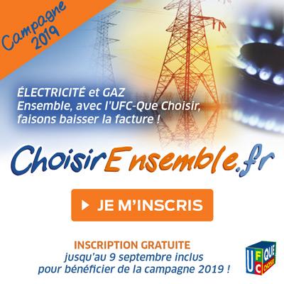 Inscrivez-vous gratuitement à notre nouvelle campagne Énergie