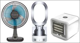 Ventilateurs et cubes rafraîchisseurs